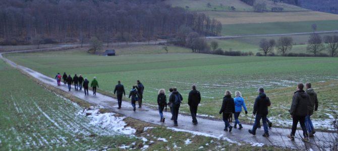 Winterwanderung – Sehr gute Beteiligung und super Wetter